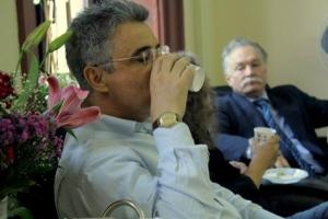 Cengiz Çakmak ve Teoman Duralı (İstanbul Üniversitesi)