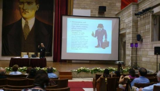 Üstün Yeteneklilik, Yaratıcılık, Gelişim Konferansı, 1. gün