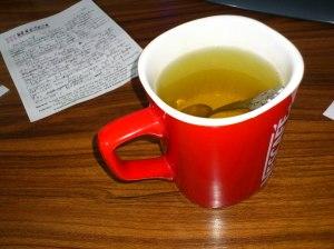 Çayımız hazır, ciddiyim