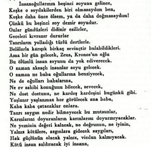 Azra Erhat çevirisi