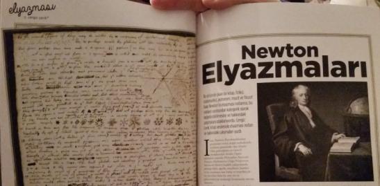 Newton Elyazmaları